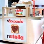 Adesivação de Quiosque Nutella