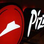 Letreiro luminoso para Pizza Hut